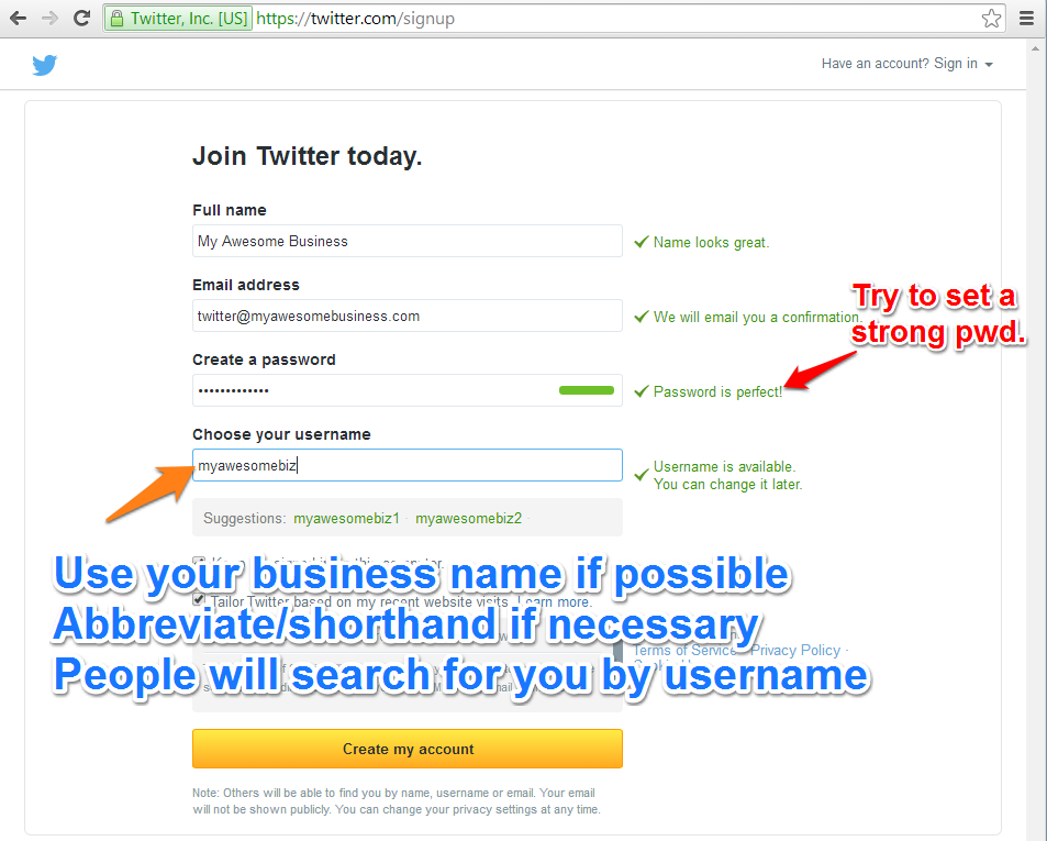 Twitter-Select-Username