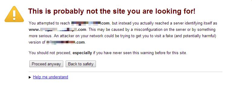 SSL-Error