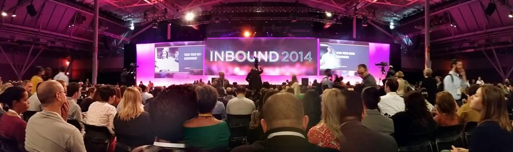 Keynote at Inbound 2014