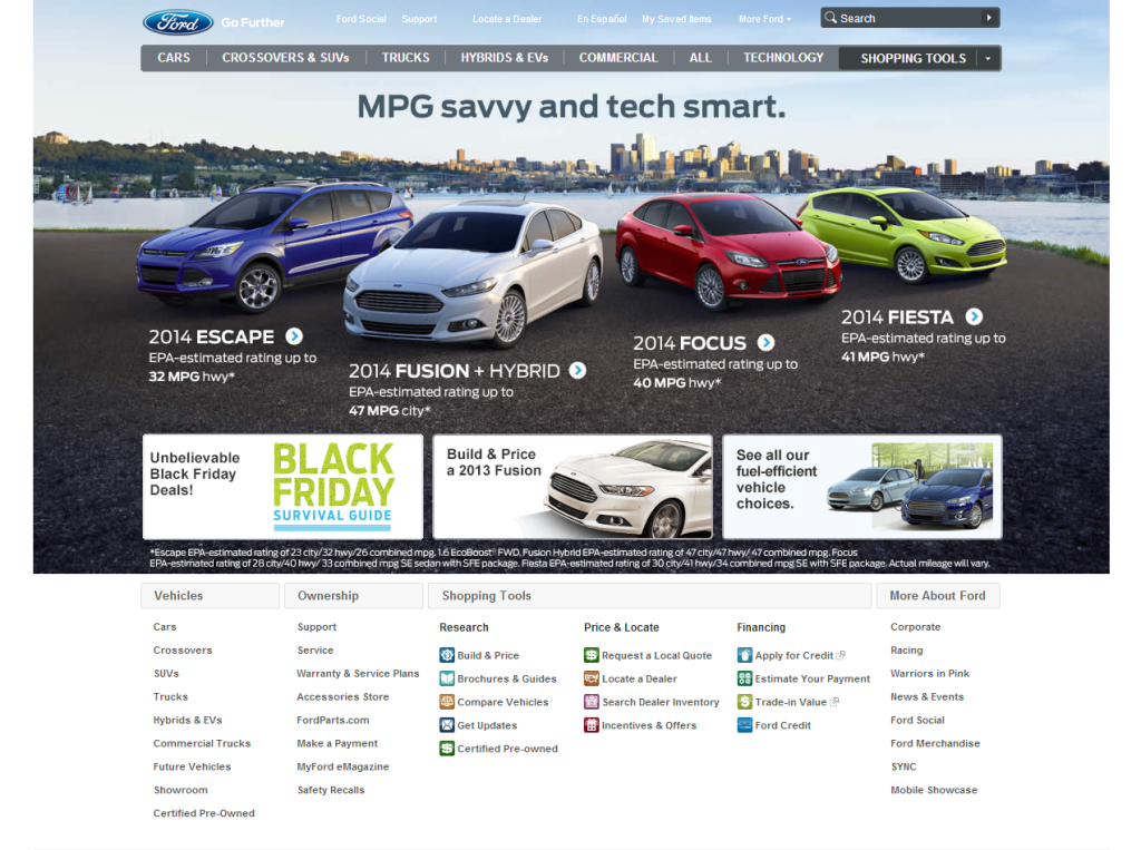 Ford Homepage