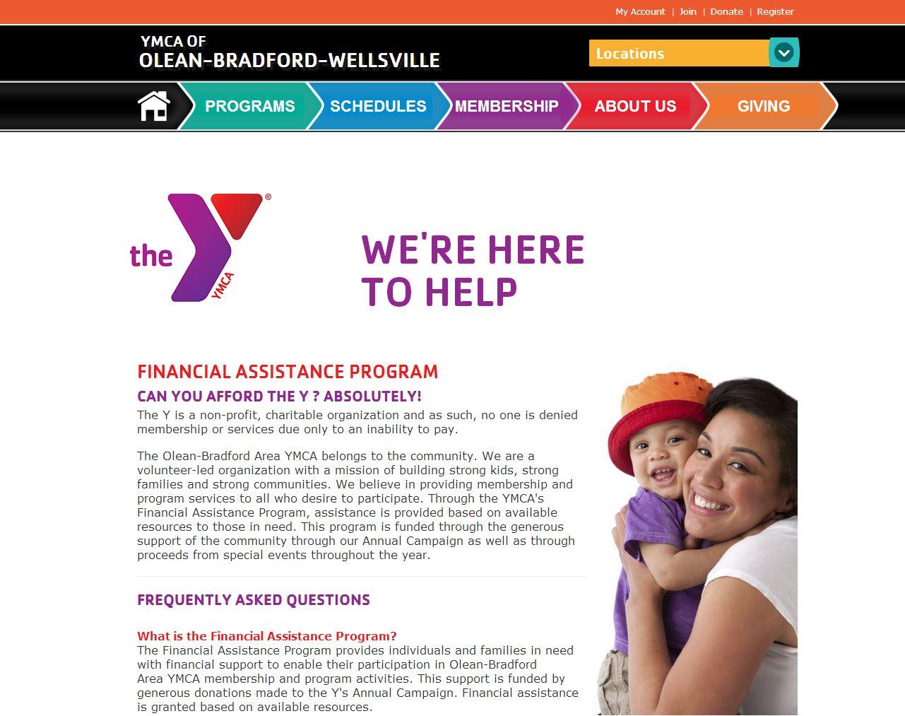 YMCA-Sub-page