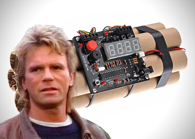 MacGyver ain't on your landing page bro!!
