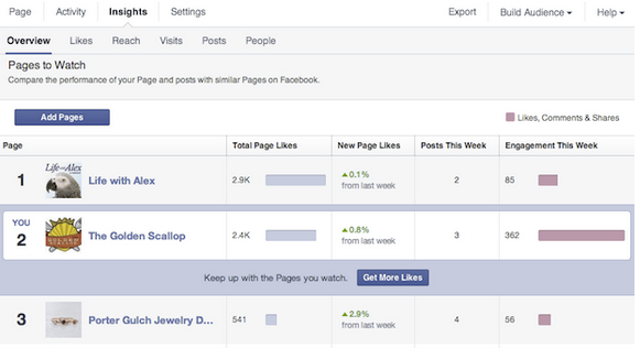 New Pages To Watch Facebook Feature