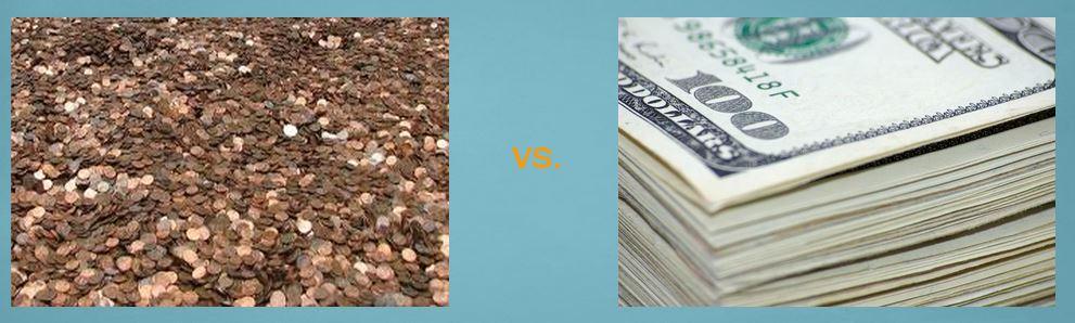 Pennies-Benjamins