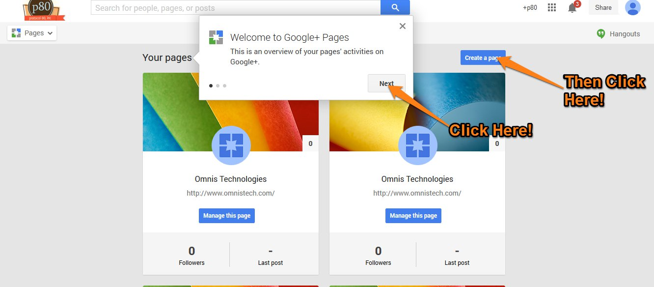 Google Plus Local Step 2
