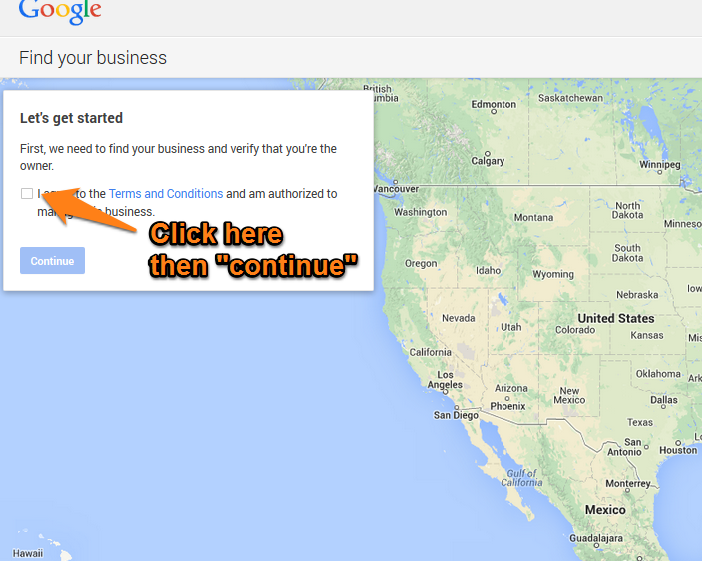 Google Plus Local Step 4