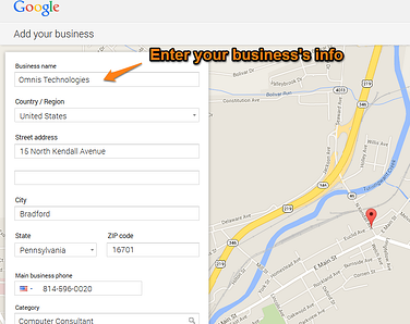 Google Plus Local Step 7