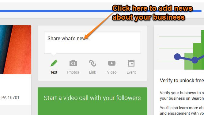 Google Plus Local Step 15