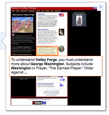 Google Instant Preview - Valley Forge