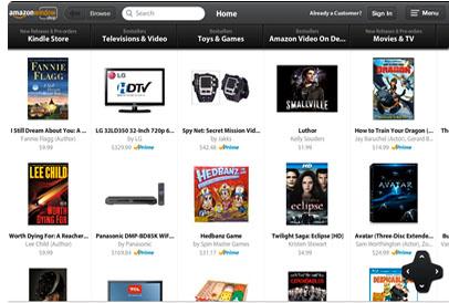 Amazon Windowshop