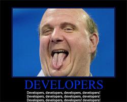 Steve Ballmer Developers Rant