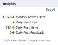 Facebook Insights Box