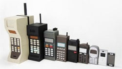 mobile phones through the years