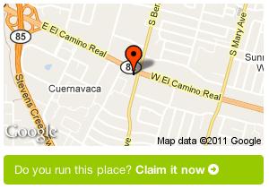 Example Gowalla claim button
