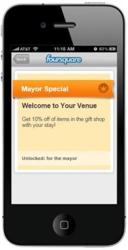 Foursquare Special Offer