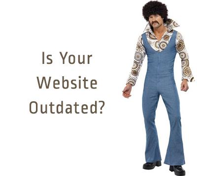 how to modernize a website - disco guy