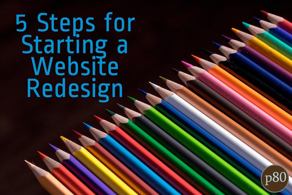 starting-a-website-redesign