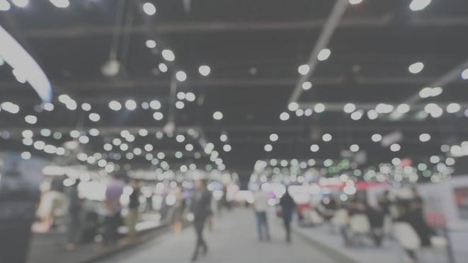 Trade Show Open Busy Floor