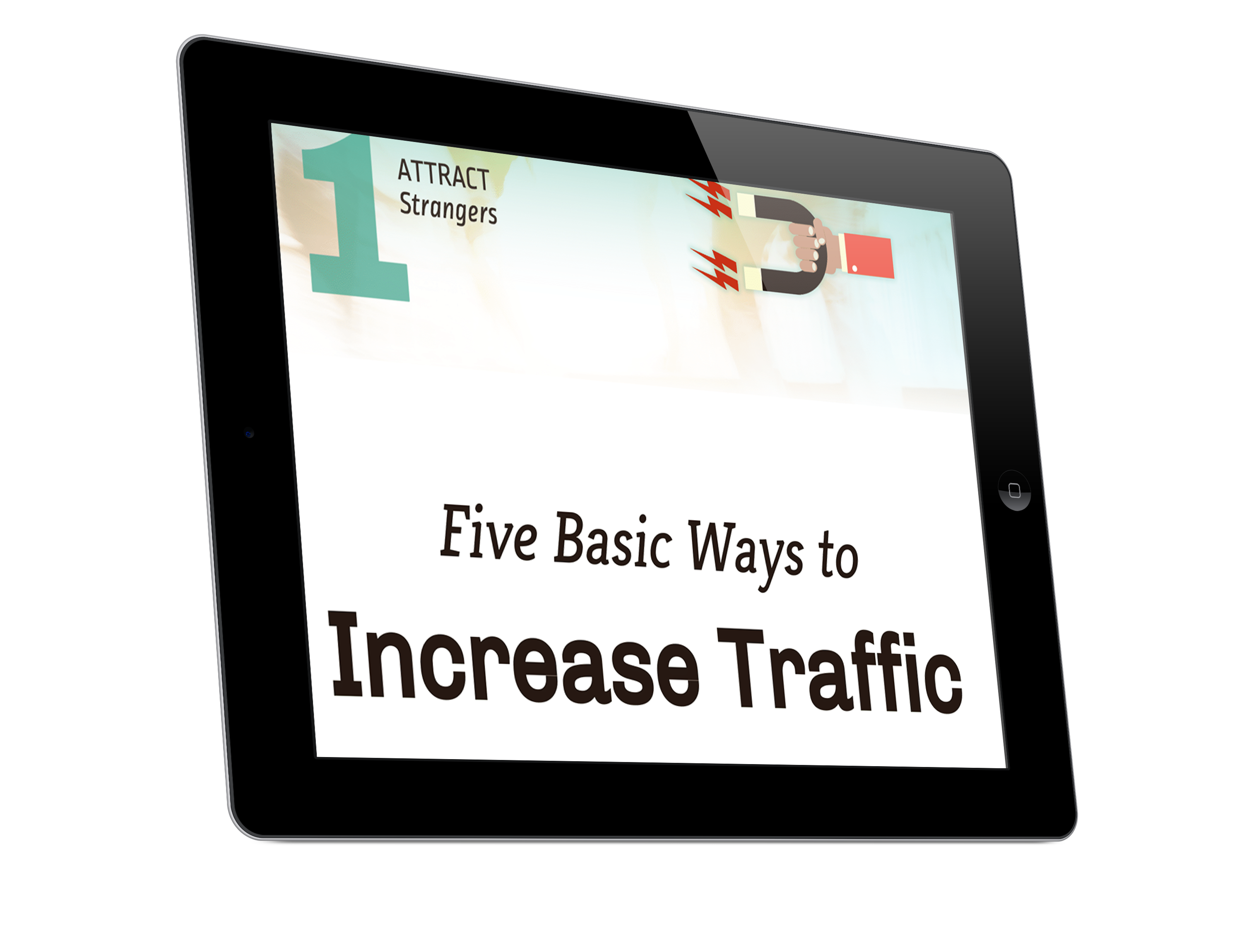 5 ways to increase website traffic ipad.png
