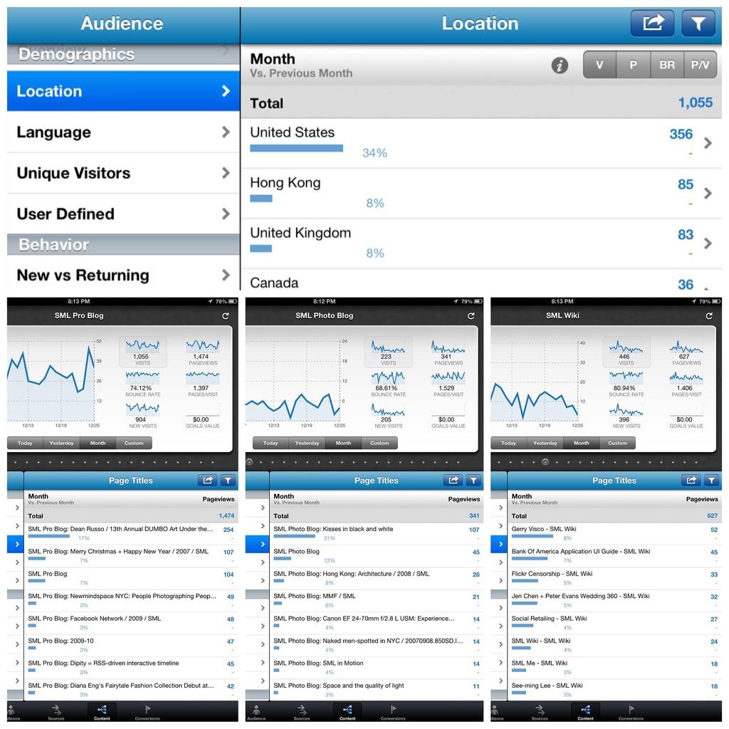 marketing report demographics analytics