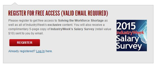 industry week register subscription