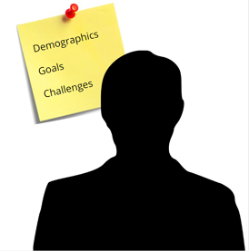 how to develop a healthcare Buyer Persona - silhouette