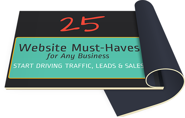 25 Website Must Haves Cover