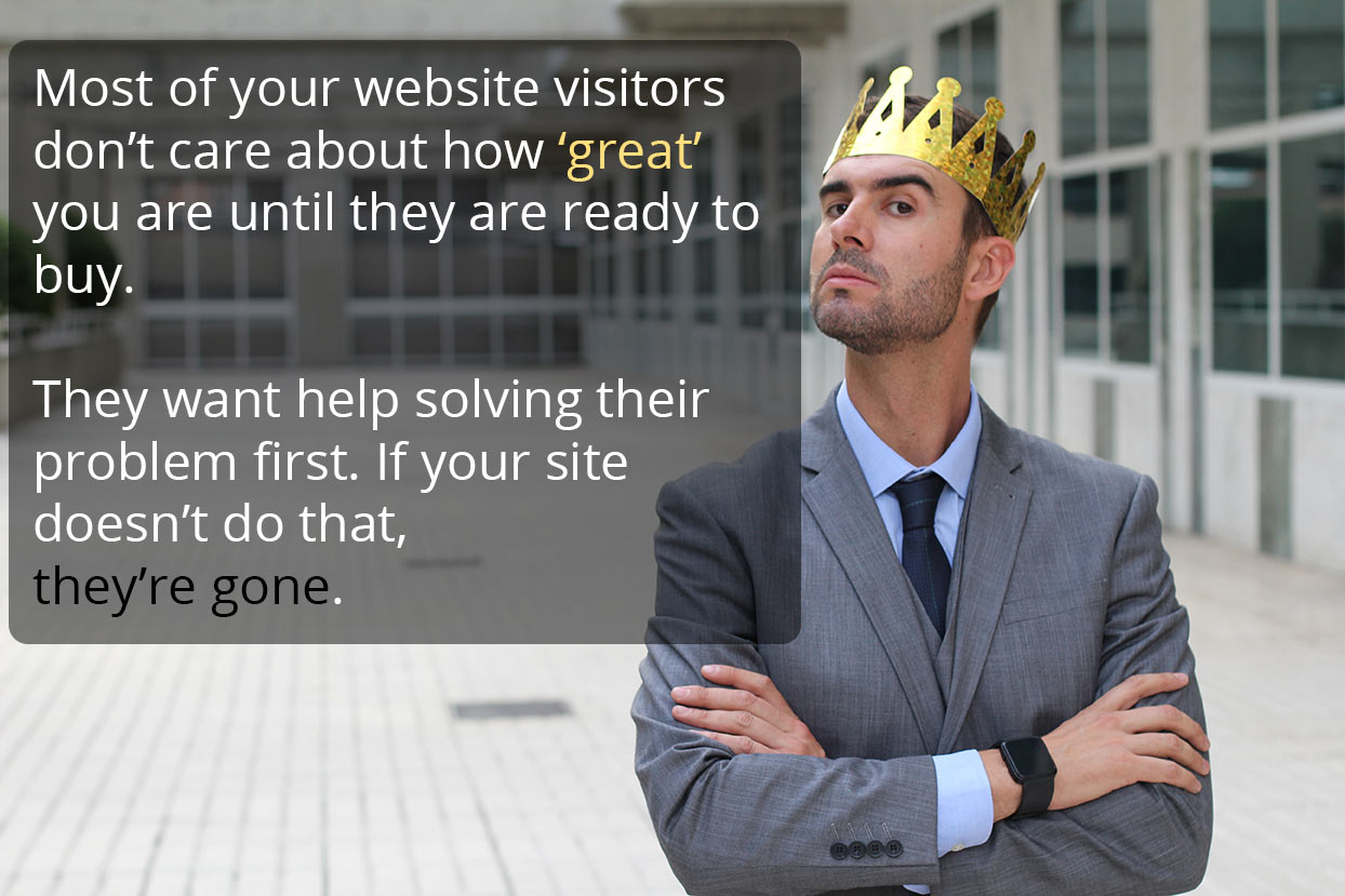 Manufacturer Websites Are Often Decision Stage Content ONLY - Bad News!