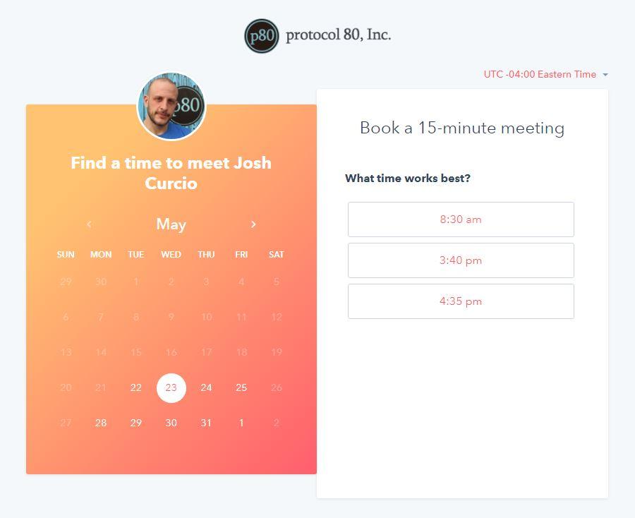 HubSpot-Meetings-Link