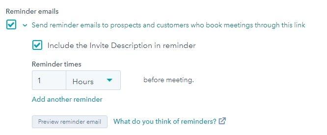 HubSpot-meetings-reminders