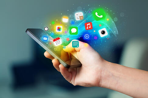 social-media-content-creation-smartphone-apps-colorful