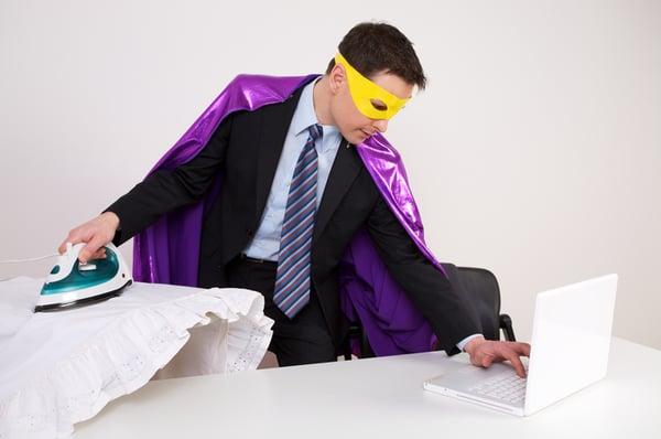 can anyone do b2b content writing - multitasking superhero