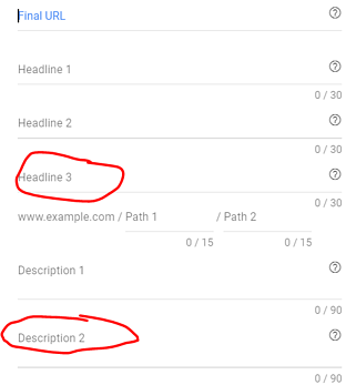 google ads expanded text ad update 3 headings 2 descriptions