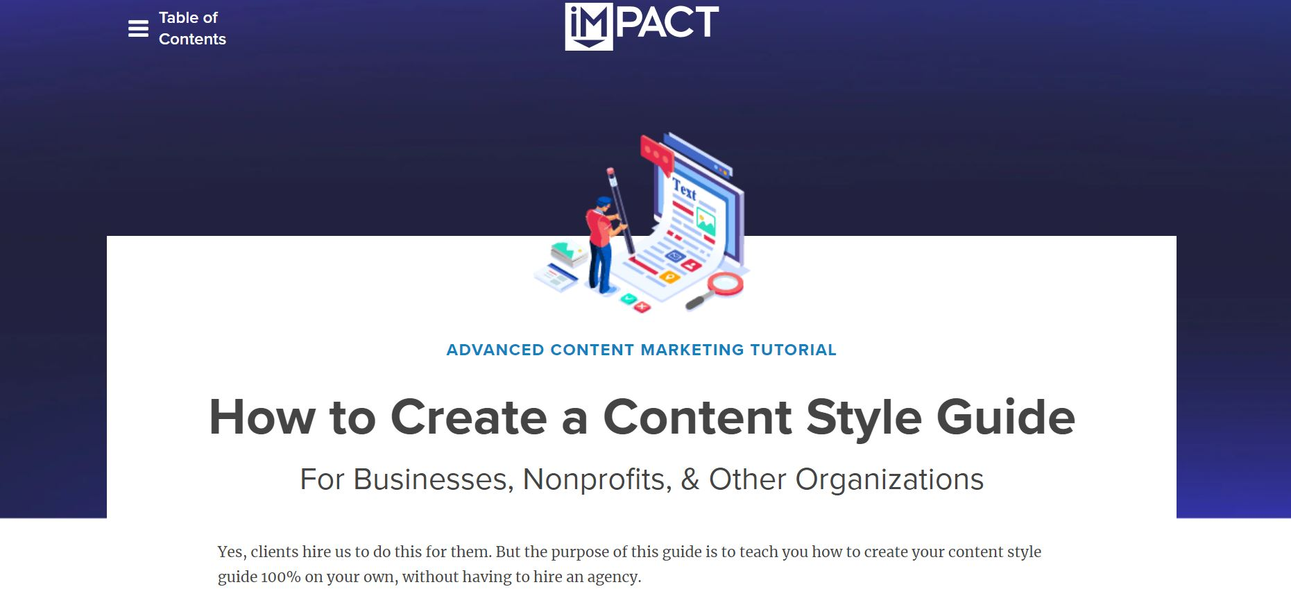impact-pillar-page-examples