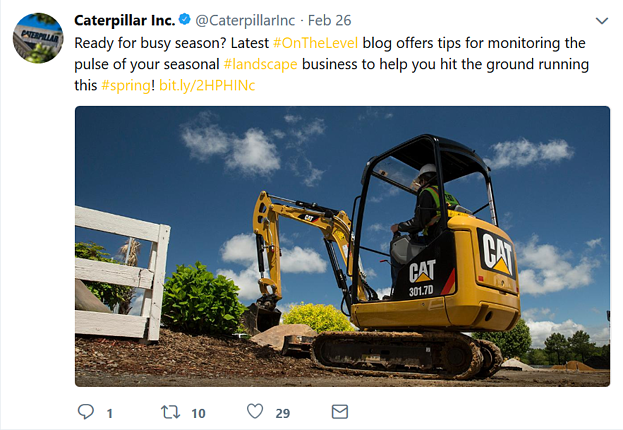 manufacturing marketing Caterpillar