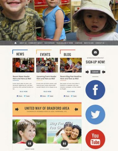 United-Way-Website