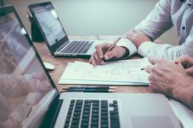 business men creating ideas for business blog