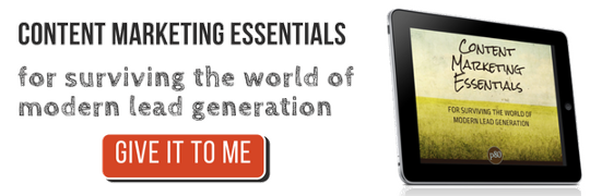 content marketing essentials lead generation cta