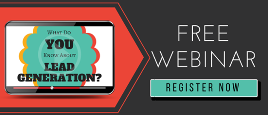 Sign Up For Modern Lead Generation Webinar