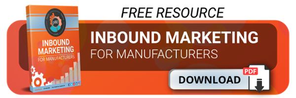 manufacturer's guide to inbound marketing