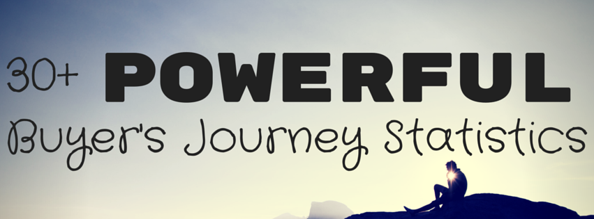 30+ Shareable Buyer's Journey Statistics Every Marketer Can Use