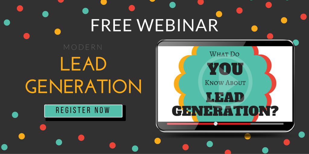 Free Webinar: Modern Lead Generation for Sales & Marketing (Sign Up Now!)