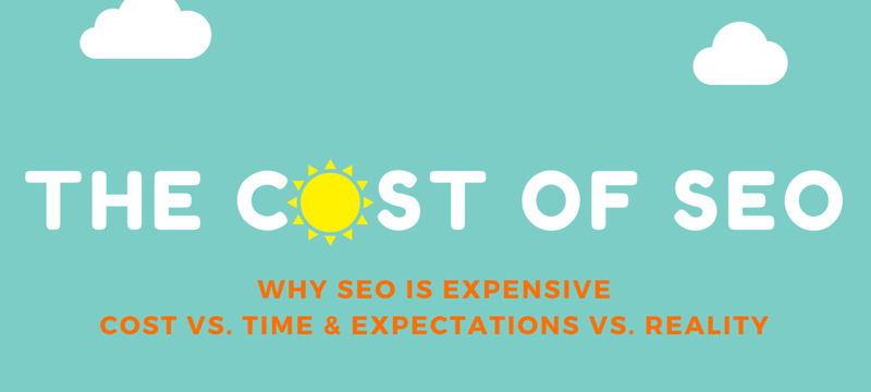 The Cost of SEO Services [Infographic]