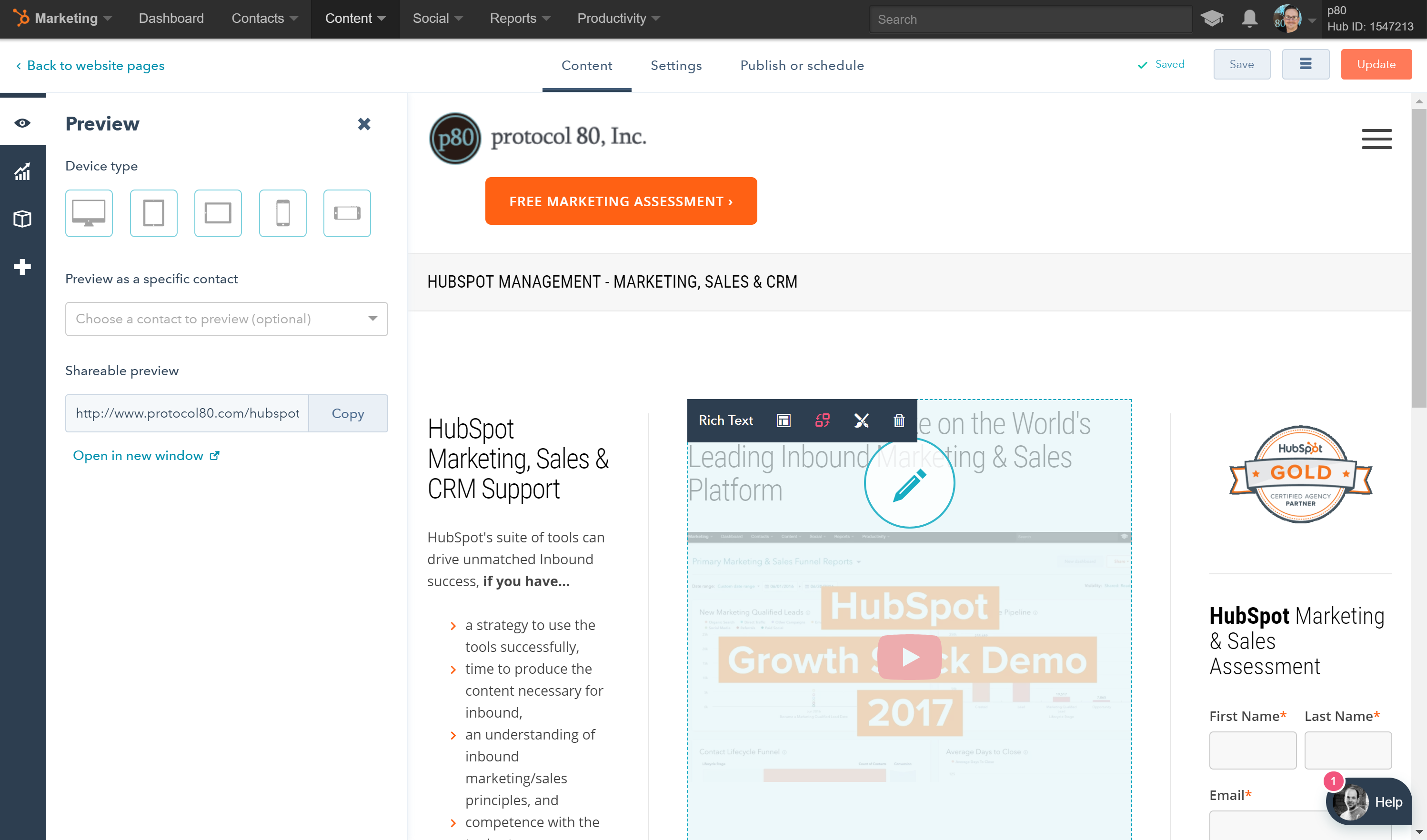 5 HubSpot COS (CMS) Tips for Improved Efficiency